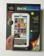 "Sharper Image Literati Wi-Fi Wireless Reader 7 "" White with Black eBook cover"