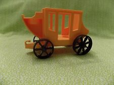 Vintage FISHER-PRICE Little People Stage Coach Wagon for Western Town #934