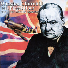 His Finest Hour: The Speeches of Winston Churchill New CD