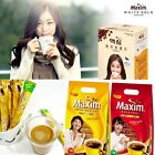 Korean Maxim Mocha White Gold Mild Original Instant coffee mix 3in1 6~110 sticks