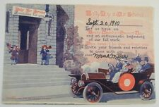 Vintage Postcard For Rally Day At School 1910