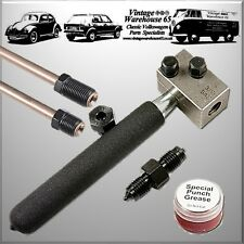 "ROVER MINI HAND HELD in situ per auto / Bench 3/16 ""condotta del freno linea combustione TOOL KIT"