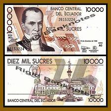 Ecuador 10000 Sucres, 1998 P-127c Unc