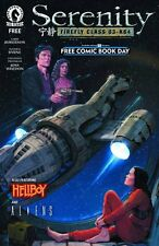 SERENITY / ALIENS / HELLBOY FCBD 2016 ISSUE - FIREFLY FREE COMIC BOOK DAY