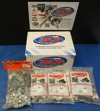 """WOODY'S 120 PACK SIGNATURE SERIES STAINLESS STUDS 1.325""""  w/ ROUND BACKERS"""