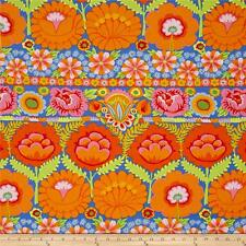 Kaffe Fassett Tessuto Fat Quarter Cotton Craft Quilting Artisan floreale a strisce