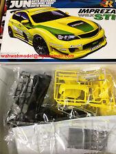 Aoshima 50552 Subaru GRB Impreza WRX STI JUN Version 1/24 scale kit 050552