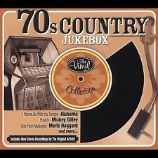 70s COUNTRY JUKEBOX - VINYL COLLECTION - 12 TRACK MUSIC CD - NEW SEALED - G688