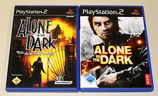 2 PLAYSTATION 2 giochi Set-ALONE IN THE DARK & THE NEW NIGHTMARE