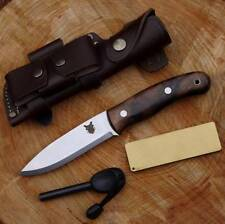 TBS BOAR BUSHCRAFT KNIFE -DC4 & Firesteel Edition- Carbon Steel & Turkish Walnut