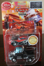 Disney Pixar Cars TOON  HEAVY  METAL  MATER  1:43  VERY RARE