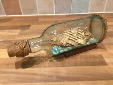 Vintage Original Ship in Bottle Maritime Marine Nautical Boat