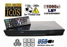 Sony BDP-S1200 MULTI REGION ALL REGIONS Free ABC DVD 1-8  Blu-Ray Player