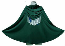 Attack on Titan Shingeki no Kyojin Scouting Legion Cloak Cape Cosplay Eren t