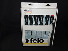Felo - Set of 6 Slotted & Phillips Screwdrivers, 500 Series