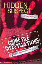 Hidden Suspect (Crime File Investigations), Jeremy Brown, New Book