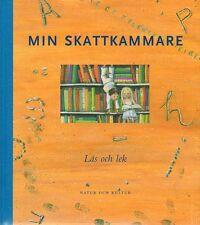 Kinderbuch SCHWEDISCH Min Skattkammare 6 Läs Och Lek, Geschichten Spiele Reime
