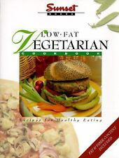 Low-Fat Vegetarian Cookbook: Recipes for Healthy Eating Sunset Books Paperback