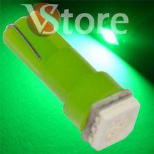 2 LED T5 SMD Verde Lampade Posizione Luci Per Fari Angel Eyes Quadro Cruscotto