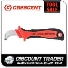 Crescent VDE 1000V Dismantling Knife Cable Sheath - Cable Stripping Knife CHVK1