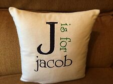 Personalized Baby Nursery Childrens Room Pillow
