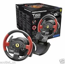 Thrustmaster T150 Ferrari Force Feedback Wheel for PS4/PS3/PC NEW & SEALED