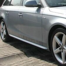 Audi A4 B8 - Side skirts bars S-line look
