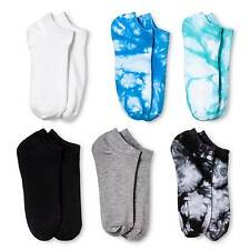 Women's Low-Cut Tie Dye 6-Pack Blue Sky 4-10 - Xhilaration™