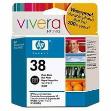 ORIGINAL & BOXED HP38 / C9413A PHOTO BLACK INK CARTRIDGE - SWIFTLY POSTED