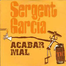 CD single SERGENT GARCIA Acabar Mal 2 Tracks card sleeve