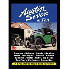 Austin Seven & Ten Road Test Portfolio  book paper