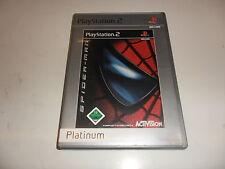PlayStation 2  PS 2  Spider-Man  [Platinum]