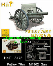 1:72 FIGUREN 8173 WWI 76mm PUTILOV M1902 GUN - HÄT