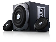 "New F&D A510 2.1 Multimedia Speaker 5000 W PMPO 6.5"" woofer, Built in AVR"
