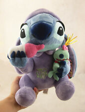 New Disney Lilo and Stitch Stitch Holding Scrump & Nursing Bottle Plush Toy Doll