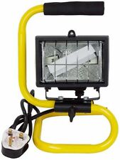 120w Halogen Work Light Portable Outdoor Carry Handle Spot light 1m Cable New
