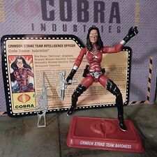GI JOE ~ 2009 CRIMSON BARONESS ~ MINT 100% complete  ~ CONVENTION JOECON STRIKE.
