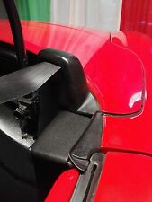 Fiat barchetta soft top side COVERS WITH SPRINGS AND BARS