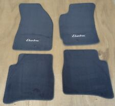 99-00 HYUNDAI ELANTRA COLOR CHARCOAL/DARK GREY CARPET FLOOR MATS MAT OEM FACTORY