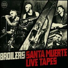 BROILERS - SANTA MUERTE LIVE TAPES  2 CD  16 TRACKS DEUTSCH-ROCK & POP  NEU