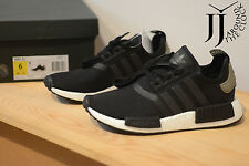 NEW ADIDAS NMD R1 RUNNER CORE BLACK CARGO TRAIL BA7251 SIZE MEN 6 US