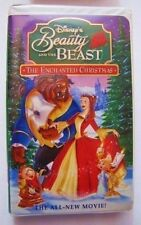 Disney Beauty And The Beast The Enchanted Christmas VHS
