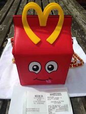 "MOSCHINO X JEREMY SCOTT ""HAPPY MEAL BAG"" LTD EDT & AVAILABILITY, MC DONALDS"