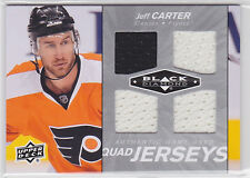 2010 10-11 Black Diamond Jerseys Quad #QJJC Jeff Carter