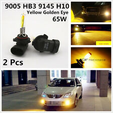 Hyper Golden Yellow Eye 9005 HB3 65W Xenon HID Fog Light Daytime Running Bulbs