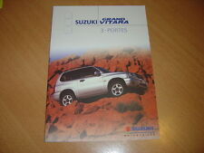 CATALOGUE Suzuki Grand Vitara 3 Portes de 2001