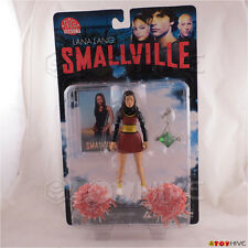 Smallville Lana Lang action figure with trading card - DC Direct worn packaging