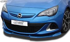 RDX Front alerón VARIO-X para Opel Astra J OPC