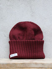 Saint James Barbaresque Hat in Burgundy Red - 100% Wool - Made in France