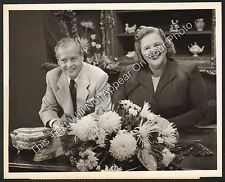 1953 Kate Smith Hour With Ted Collins NBC TV 7x9 Promo Photo Fashion